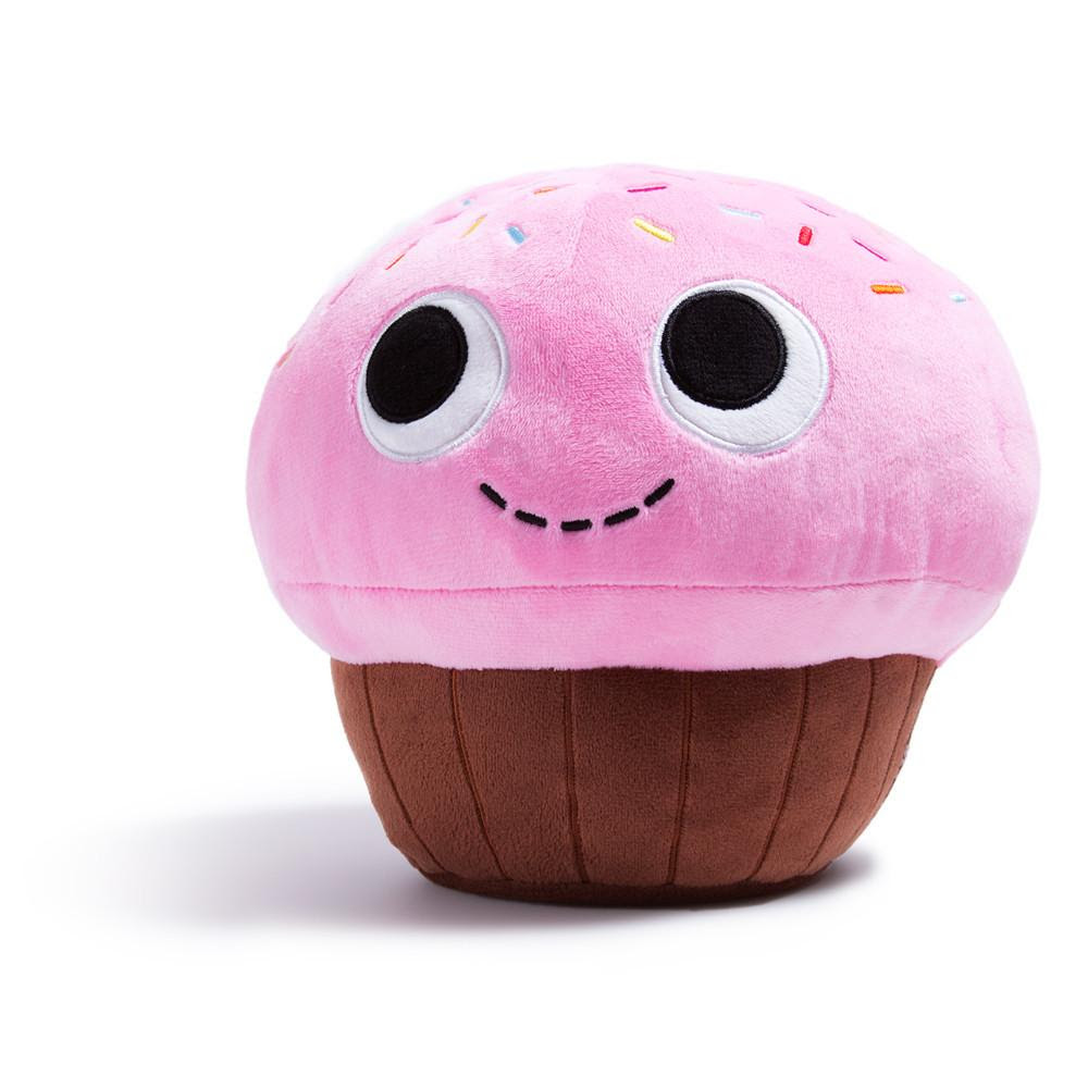 Yummy World Sprinkles Pink Cupcake Food Plush