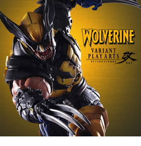 WOLVERINE PLAY ARTS KAI FIGURE