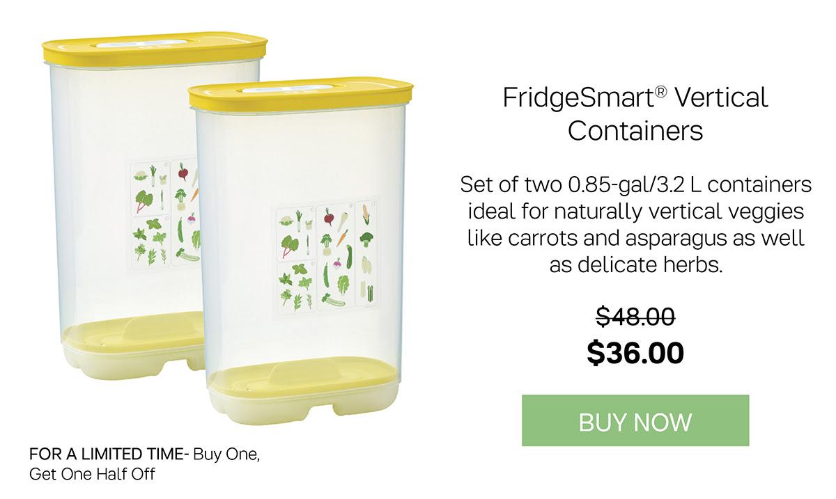 FirdgeSmart® Vertical Containers
