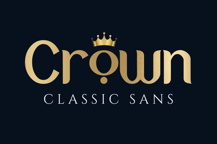 Crown Classic Sans Seriff Font