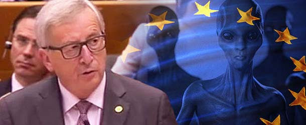 El Presidente de la Comisión Europea admite comunicarse con líderes extraterrestres de otros planetas