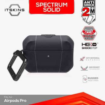 ITSKINS Shock Proof Case for Airpods Pro - Spectrum Solid