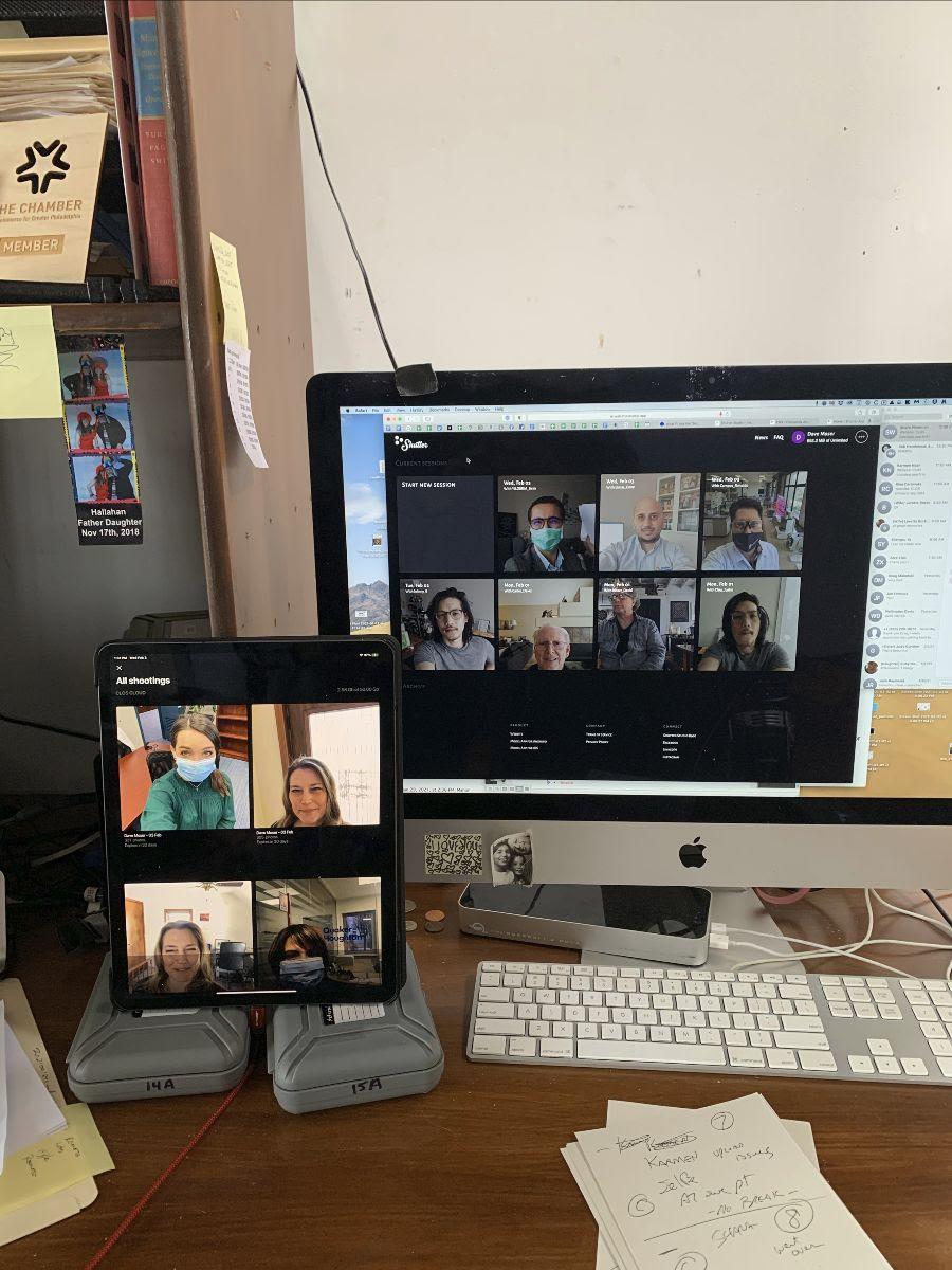 Quaker BTS for Remote Photography