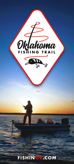 OK fishing trail brochure