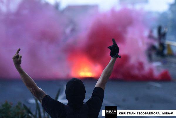 Cali ha sido el picentro de las protestas contra la reforma tribuaria. Foto: Christian Escobar Mora - Mira-V