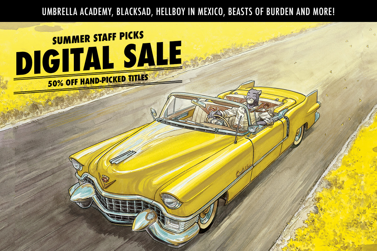Summer Staff Picks Digital Sale