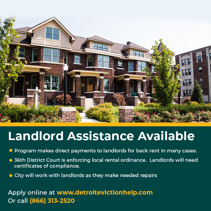 Landlord Assistance with Back Rent