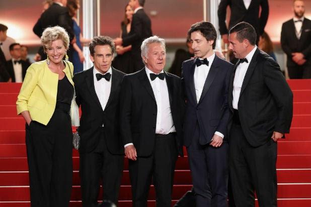 z Stories Cannes Emma Thompson Ben Stiller Dustin Hoffman Noah Baumbach Adam Sandler