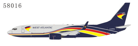 Boeing 737-800F West Atlantic G-NTPB | is due: July 2019