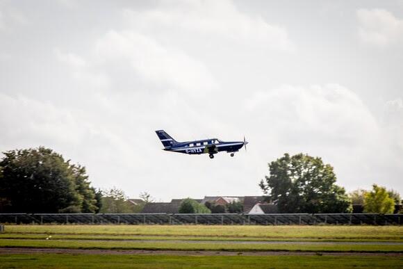 ZeroAvia's hydrogen fuel cell powered flight at Cranfield in September