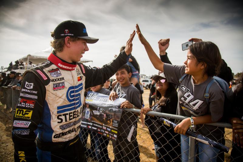 Christopher Polvoorde, STEEL-IT, General Tire, Baja Fans, Off-Road