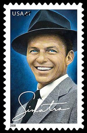 Американская марка в честь Фрэнка Синатры