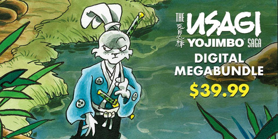 Usagi Saga Digital Megabundle