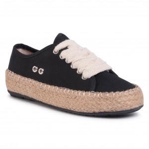 Glamour-napok 2020 - Espadrilles EMU AUSTRALIA Agonis Teens T11411 Black