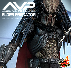 HOT TOYS ALIEN VS PREDATOR ELDER PREDATOR