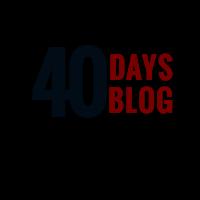 40DAYSBLOG