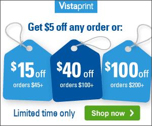 Vistaprint Buy More, Save More...