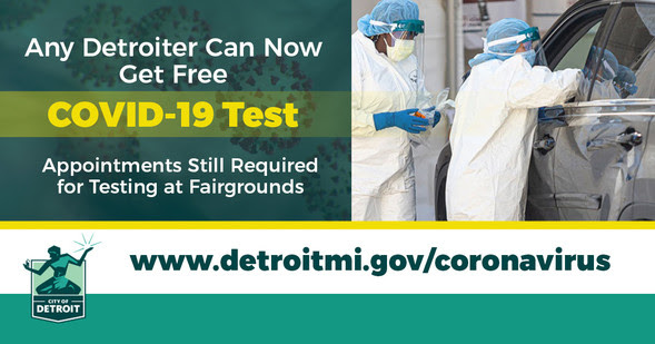 COVID All Detroiters Can Get Tested