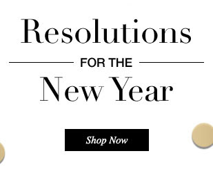 New Year Resolutions: Shop now!