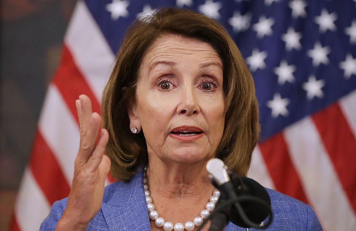 Pelosi Blames Trump For Border Crisis, Says Biden Inherited 'Broken System'