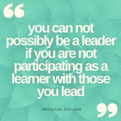 Leaders must be learners.