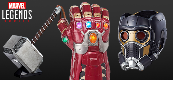 MARVEL LEGENDS GAUNTLETS, MJOLNIR, & HELMETS