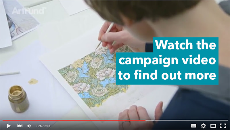 William Morris Gallery Art Happens campaign video