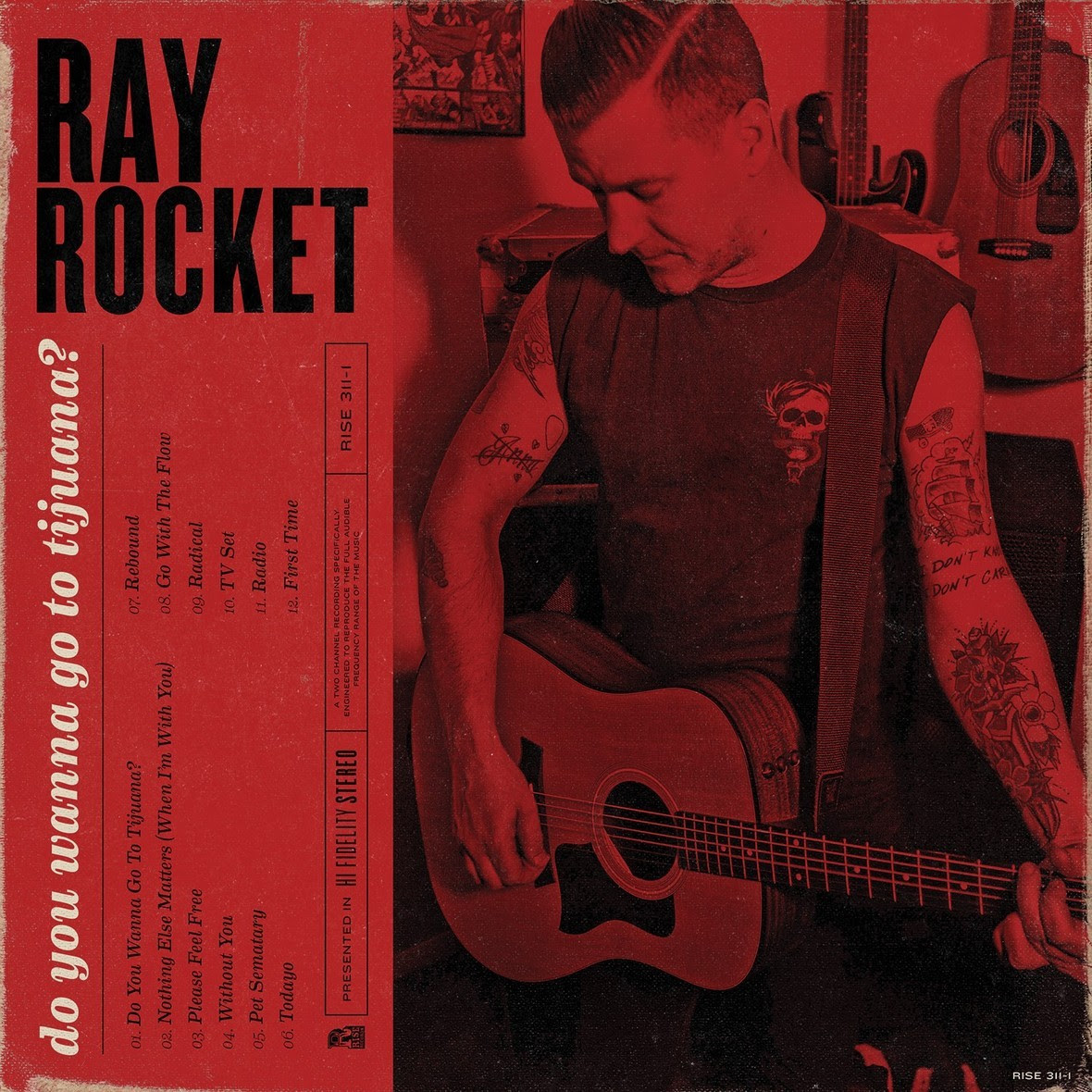 ray rocket cover