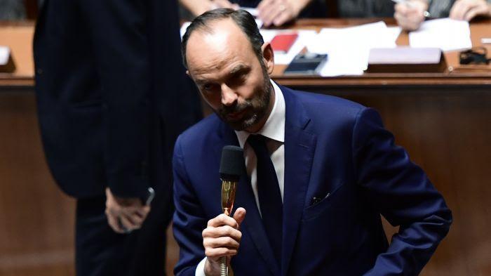 Edouard Philippe après avoir obtenu le vote de confiance