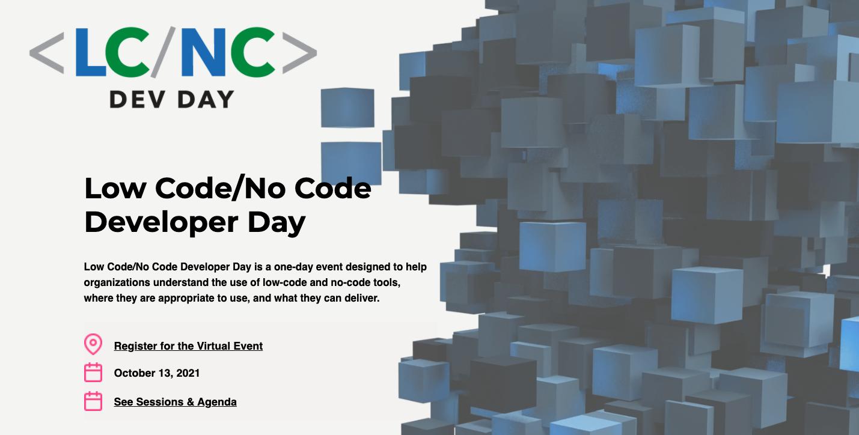 Low-code Developer day