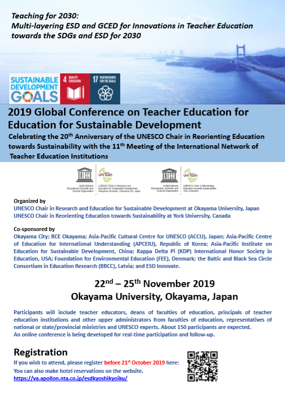 Teaching for 2030:  Innovations in Teacher Education