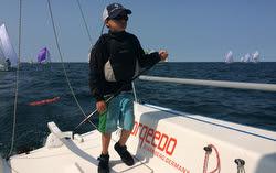 Dylan Flack-  family sailing J/70