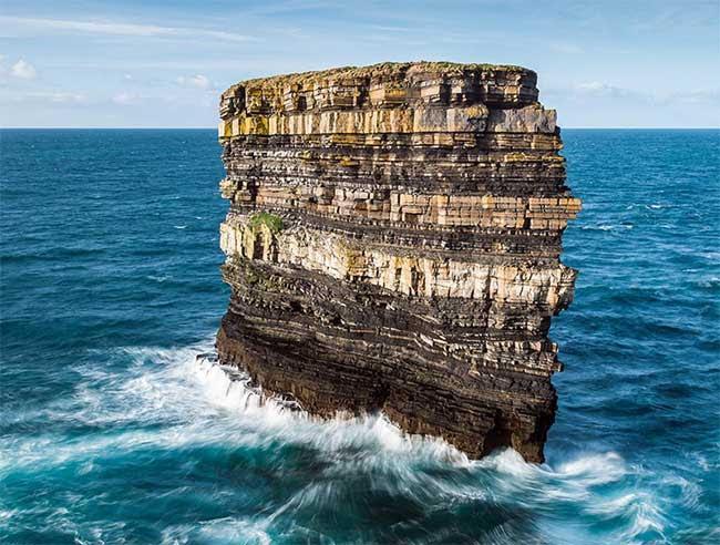 Dấu ấn của hàng triệu năm thu lại trong một bức ảnh.
