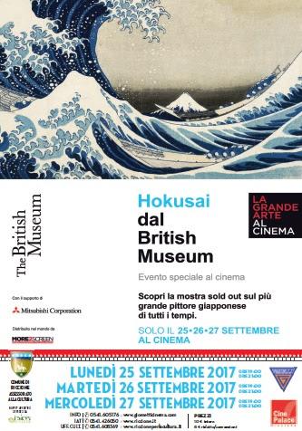 GRANDE ARTE SU GRANDE SCHERMO: HOKUSAI DAL BRITISH MUSEUM