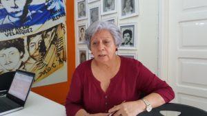Bertha Oliva Coordinadora General del COFADEH