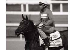Odanis Acuna aboard Daddys Lil Darling at Churchill Downs