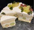Detalhe - Bolo de Uva com Cream Cheese