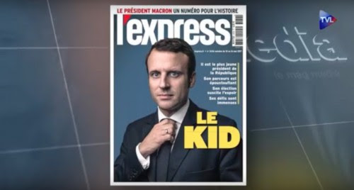 Macron léchage médiatique
