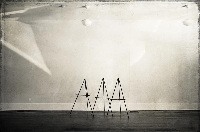 Three Easels Dale Niles