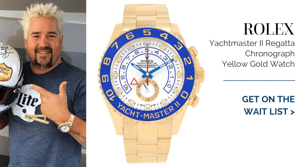 Yachtmaster Regatta Yellow Gold