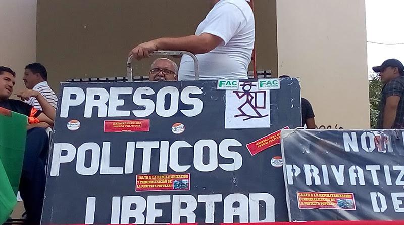 presos políticos de Honduras