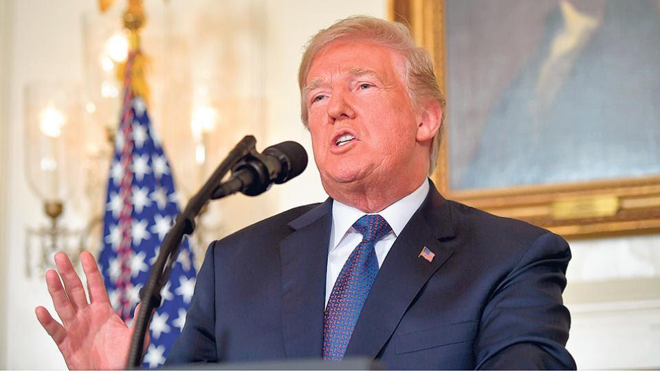 El presidente de Estados Unidos, Doland Trump, anunció el ataque en un mensaje televisado.