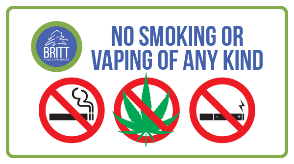 No Smoking or Vaping of Any Kind