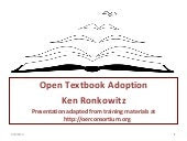 Open Textbooks: A Brief Introduction