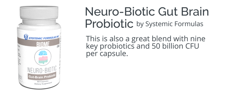 Neuro-Biotic Gut-Brain Probiotic