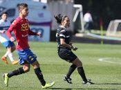 Carvajal ha arbitrado en categorías del fútbol joven masculino Sub 17 y Sub 19.