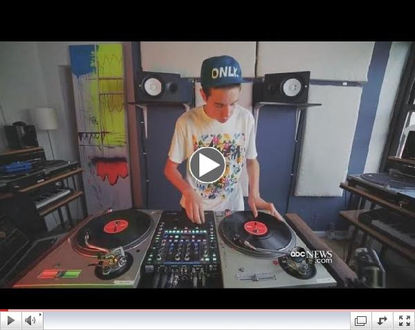 ABC World News checks in with Scratch DJ Academy NYC and Talks to 2014 DMC US Runner Up: DJ Dwells and DJ Dirty Digits!