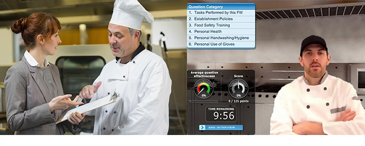 Images of kitchen managers for food safety education month newsletter