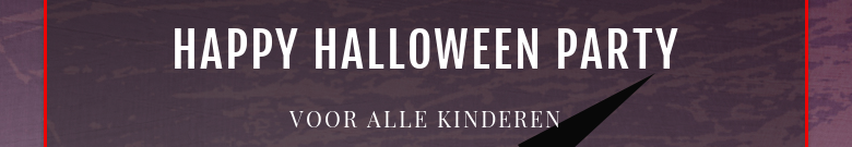 Happy Halloween party Voor alle kinderen