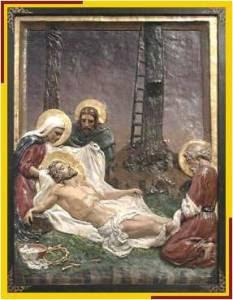 Jesús bajado de la cruz